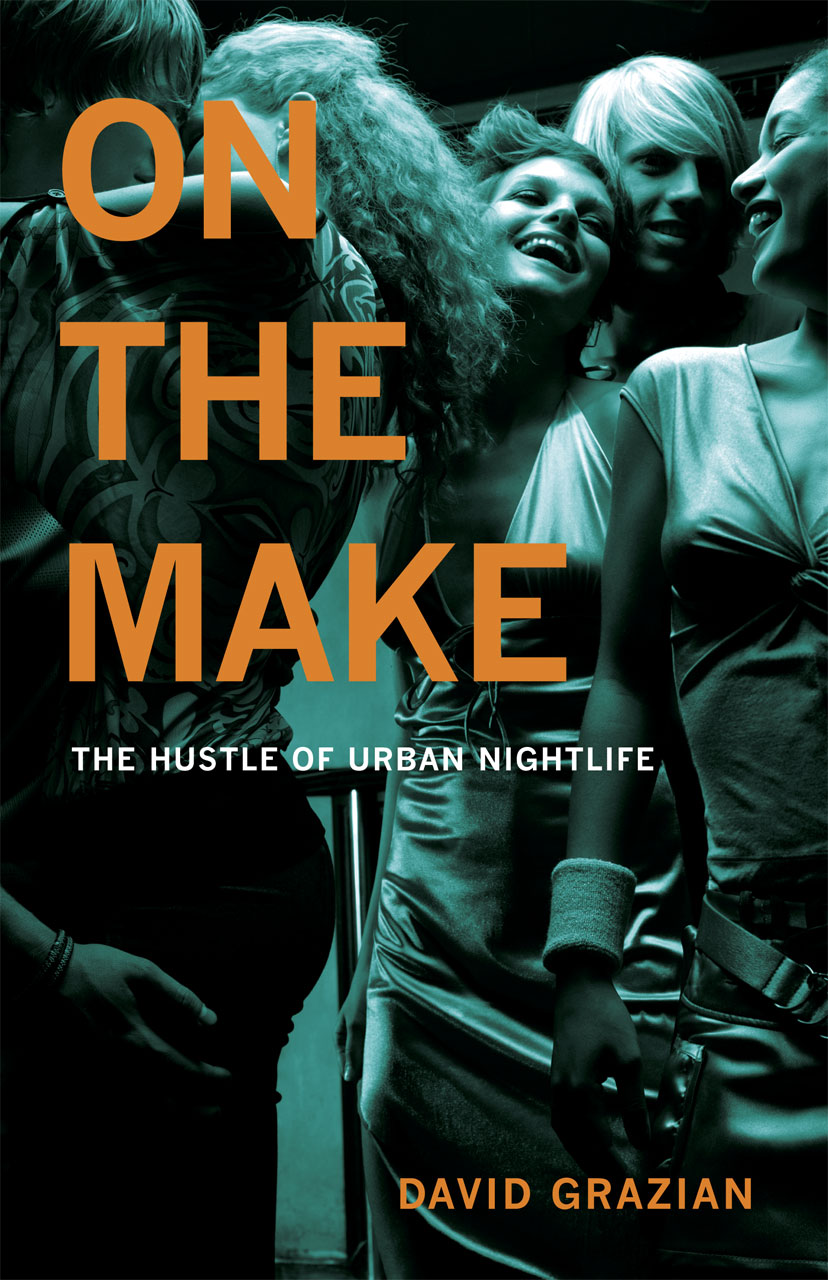 book cover, On the Make
