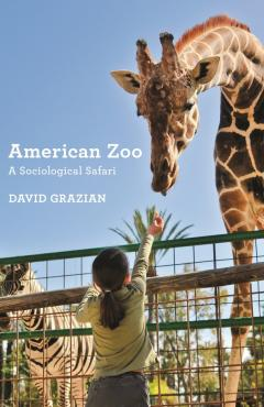 book cover, American Zoo