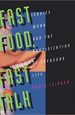 book cover, Fast Food, Fast Talk