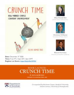 crunch time book launch